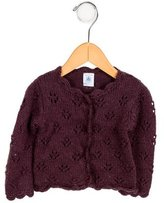 Petit Bateau Gils' Knit Button-Up Cardigan