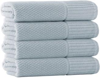 Enchante Home Set Of 4 Timaru Bath Towels