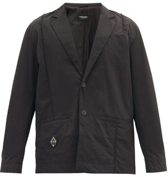 A-Cold-Wall* Single-breasted Technical-shell Blazer - Black