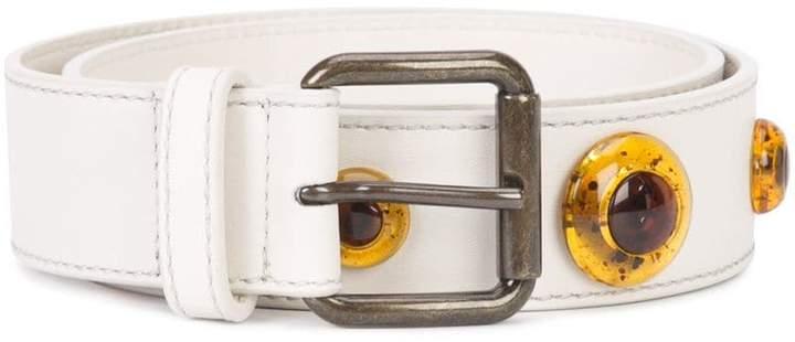 Tomas Maier colour block belt