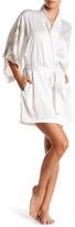 Natori Chantilly Lace Trim Robe