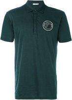 Versace Medusa patch polo shirt - men - Cotton - S