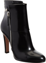 Patent Cuffed Ankle Boot