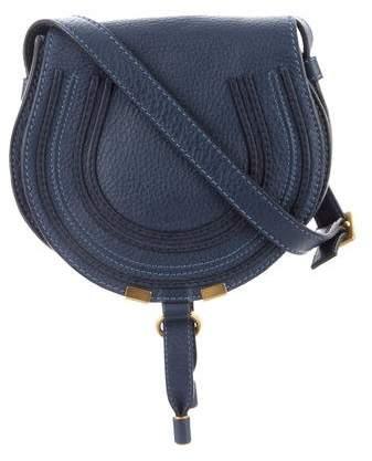 Chloé Mini Marcie Saddle Crossbody Bag