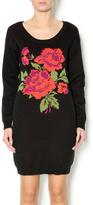 Frock Shop Black Floral Dress