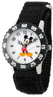 EWatchFactory Disney Mickey Mouse Boys' Stainless Steel Time Teacher Watch