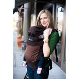 Moby Wrap Boba 2G Baby Carrier - Chestnut