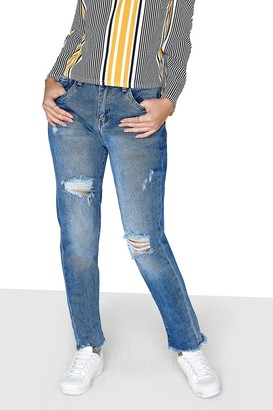 Little Mistress Girls on Film Mid-Wash Jeans