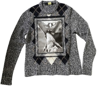 Givenchy Anthracite Wool Knitwear for Women