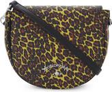 Vivienne Westwood leopard-print leather shoulder bag