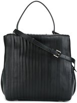 DKNY pleated tote - women - Calf Leather - One Size