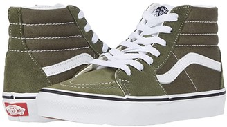 Vans Kids SK8-Hi (Little Kid) (Grape Leaf/True White) Kids Shoes