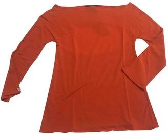 Fendi Orange Cotton Knitwear