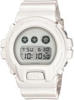 G-Shock Men's Digital White Out White Resin Strap Watch 53x50mm DW6900WW-7S