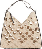 3.1 Phillip Lim WOMEN'S CUTOUT QUILL TRIANGLE BAG-IVORY