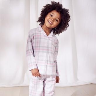 The White Company Classic Flannel Pyjamas (1-12yrs), Multi, 2-3yrs