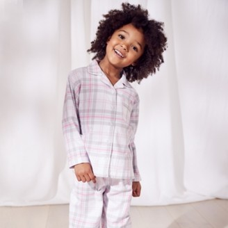 The White Company Classic Flannel Pyjamas (1-12yrs), Multi, 7-8yrs