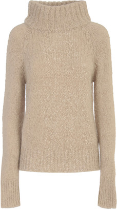 Liviana Conti Sweater W/ribbed High Neck