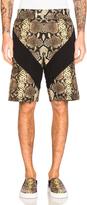 Givenchy Snake Print Bermuda Shorts