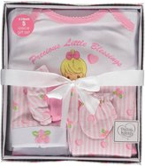 "Precious Moments Baby Girls' ""Heart Bunny"" 5-Piece Layette Gift Set"