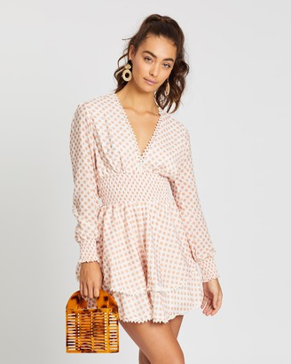Palm Collective Dotty Linen Dress