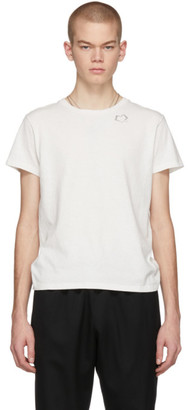 Saint Laurent Off-White Heart Logo T-Shirt