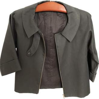Cos Grey Cotton Jacket for Women