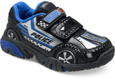 Stride Rite Little Boys' or Toddler Boys' Vroomz Police Car Sneakers