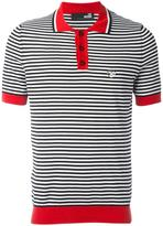 Love Moschino striped polo shirt