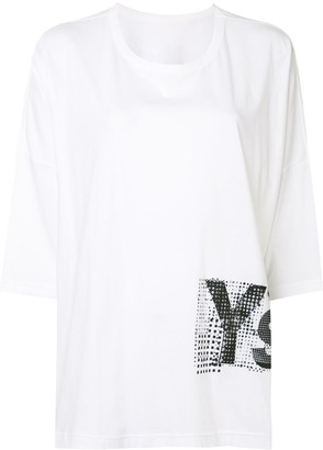 Y's logo print short-sleeved T-shirt