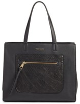 Vince Camuto Elvan Leather Tote - Black