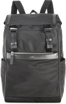 HUGO BOSS HUGO Men's Leather Trim Backpack