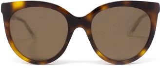Gucci Gg0565s Havana Sunglasses