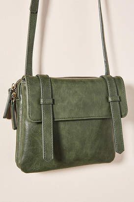 Anthropologie Louisa Crossbody Bag By in Green Size ALL