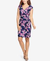American Living Ruffled Floral-Print Dress
