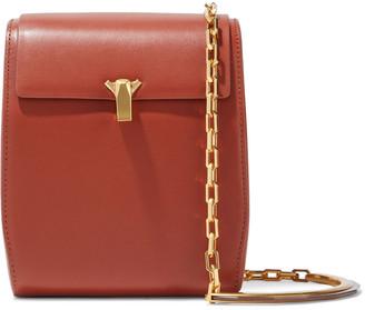 THE VOLON Leather Shoulder Bag