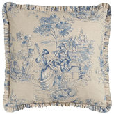 "Legacy Toile Pillow, 20""Sq."