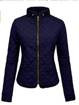 Apparel Sense A.S Womens Lightweight Quilted Zip Jacket/Vest (Juniors)