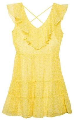 Jack Wills Annalee Frill Detail Shirred Dress