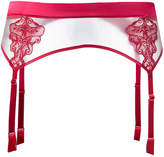 Fleur of England lace suspender belt