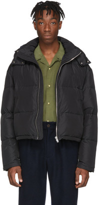 Second/Layer Black Down Puffer Jacket
