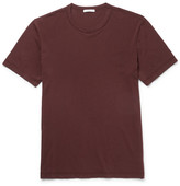 James Perse Slim-fit Cotton-jersey T-shirt - Red