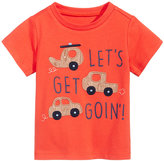 First Impressions Car-Print Cotton T-Shirt, Baby Boys (0-24 months), Only at Macy's