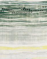 Jaeger Silk Fine Stripe Paint Scarf