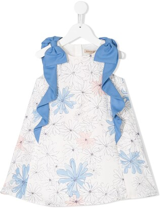 Hucklebones London Floral Print Dress