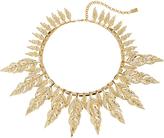 Fallon Raven Gold-Tone Pave Collar Necklace