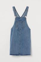 H&M MAMA Denim Overall Dress - Blue