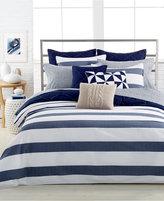 "Nautica Home Lawndale Navy 18"" Square Decorative Pillow"