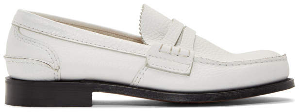 Church's Churchs White Pembrey Loafers