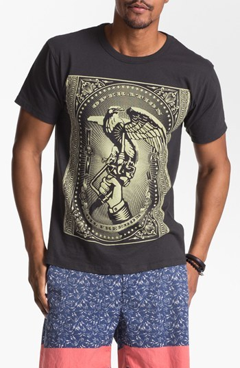 Obey 'Oil Freedom' Graphic T-Shirt